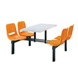 南京餐桌椅QC-601A,南京快餐桌椅QC-601A